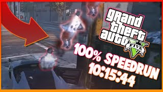 GTA V 100% 10:15:44 speedrun
