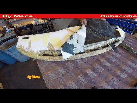 How to Reupholster  Ferrari Dashboard with Original leather. | Fix Ferrari Dashboard. DIY