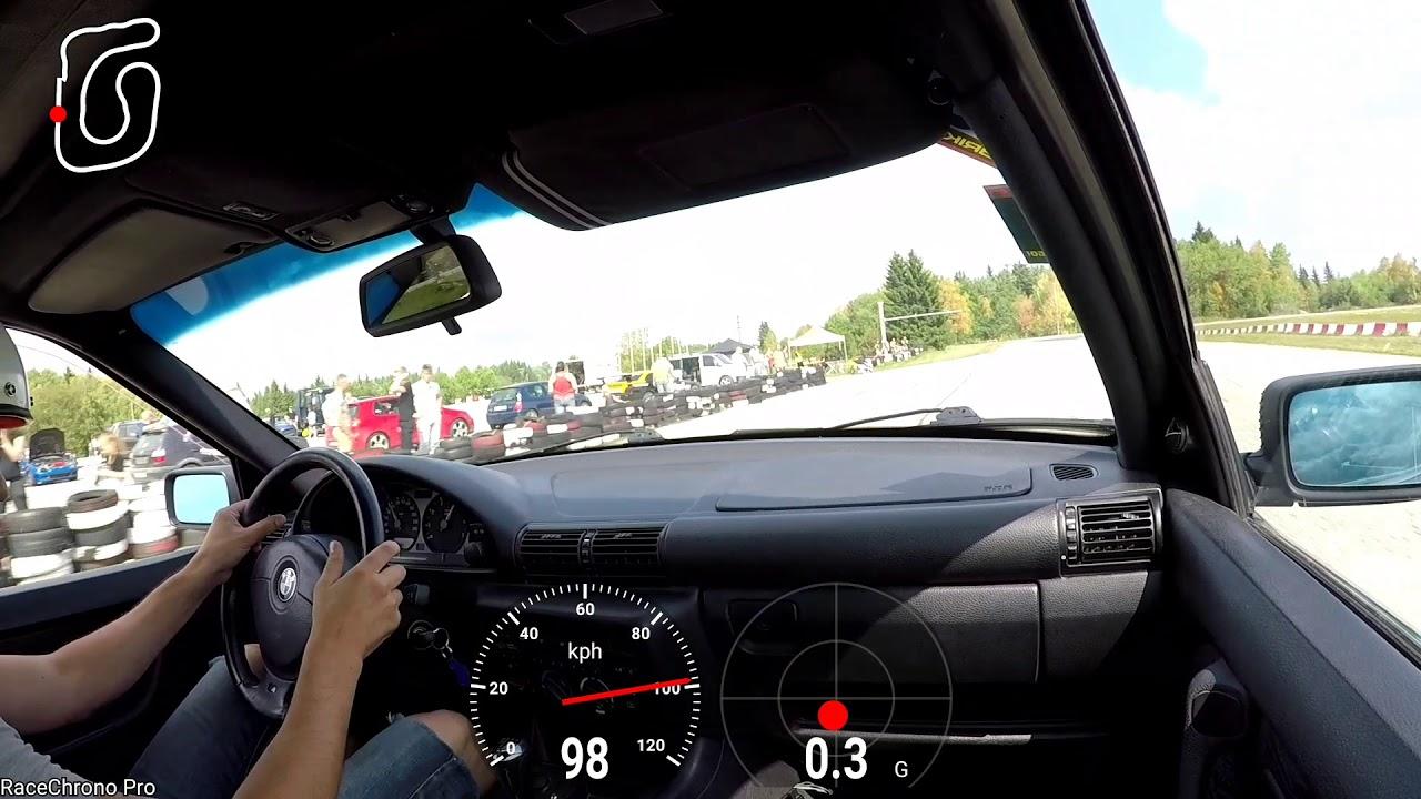 BMW 330ti e36 accident @ Tabasalu ECCtuning 2018 3rd stage