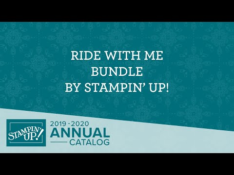 Ride With Me Bundle By Stampin' Up!