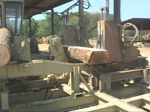 Hurdle Machine Works Cross Tie Sawmill (part 2) - Rose's Sawmill - Mill1