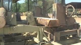 Hurdle Machine Works Cross Tie Sawmill (part 2) - Rose's Sawmill - Mill1