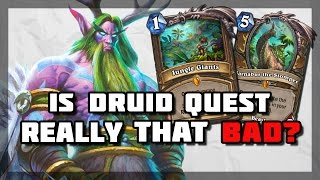 Hearthstone - Is Druid Quest Really That Bad?