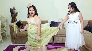 الأميرة شفا والبنت الشريرة !!