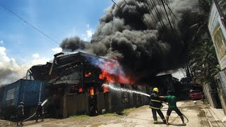Warehouse Fire in Cebu, Philippines