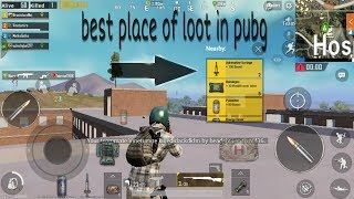 Best place of loot in pubg