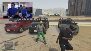 RomanAtwood Playing GTA 5 with Noah and MrNastyHD (PS4)