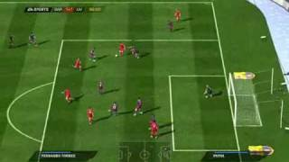 FIFA 11 Gameplay (PC) - Barcelona vs Liverpool
