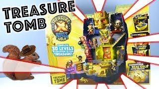 Treasure X Kings Gold Tomb Playset Guaranteed Real Gold Moose Toys