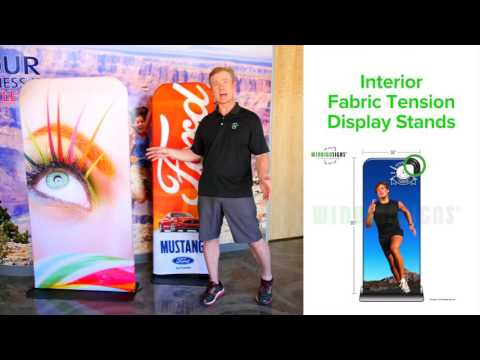 Tension Fabric Display Sign | Windigo Signs | Business Signs