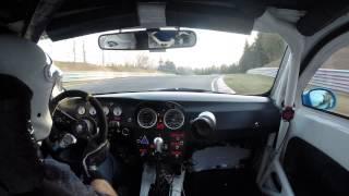 Scary Moment - Mazda MX5 Crash - Raeder Motorsport BMW M3 - Nürburgring Nordschleife