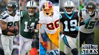 Top 5 Surprising Players of 2015 | Move the Sticks | NFL