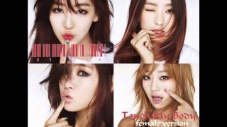 Download lagu Sistar - Touch My Body