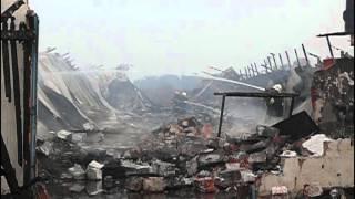 Pożar fermy drobiu w Kwiatkowicach