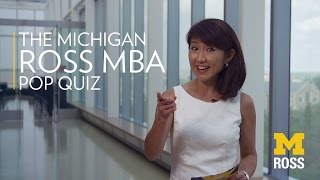The MBA Pop Quiz with Michigan Ross thumbnail
