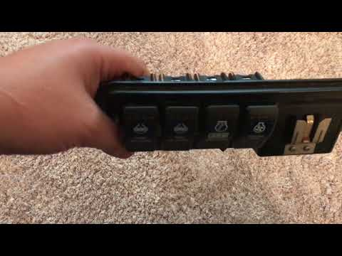 ARB Rocker Switches In Factory Jeep TJ Slots