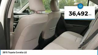 2015 Toyota Corolla LE Maplewood, St Paul, Minneapolis, Brooklyn Park, MN P17294