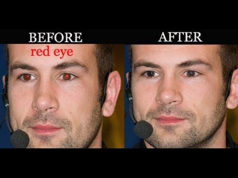 Photoshop Tutorial Eliminating Red Eye Photos Exposed