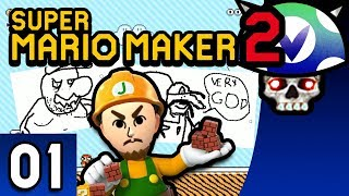 [Vinesauce] Joel - Super Mario Maker 2 ( Part 1 )