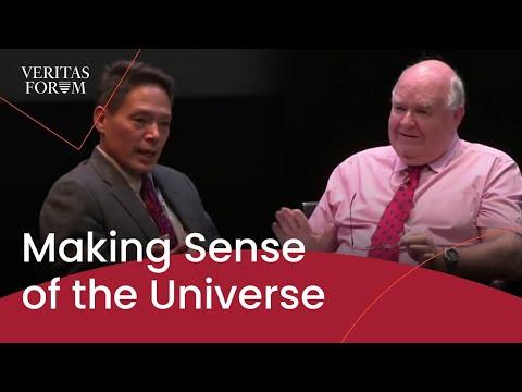 Making Sense of the Universe - John Lennox and Peter Ulric Tse at Dartmouth