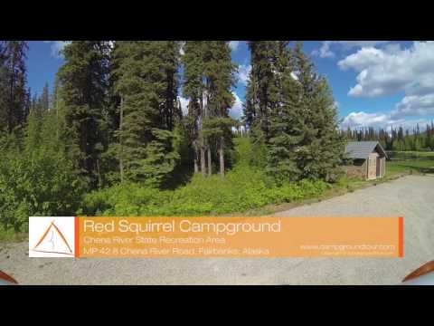 Red Squirrel Campground, Chena River State Recreation Area, Fairbanks, Alaska