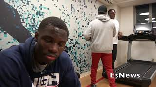 Richardson Hitchins Going Crazy On The Mitts EsNews Boxing