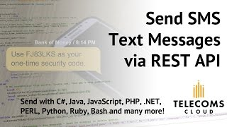 How Do I... Send SMS Text Messages via REST API? (SMS API)(, 2015-09-17T20:35:07.000Z)