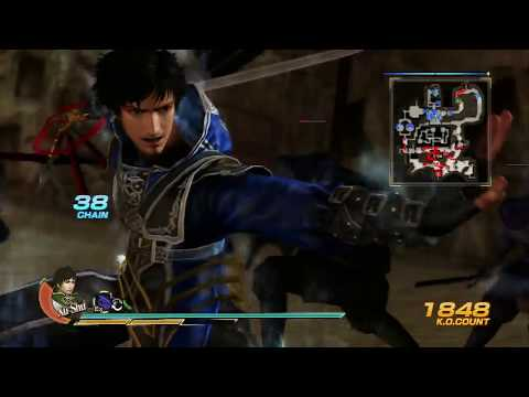 Dynasty Warriors 8 Xu Shu Farewell Gameplay To His Broken Weapon and Moveset!!