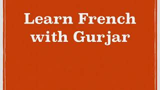 Concept of beaucoup/beaucoup de { learn French with Gurjar}