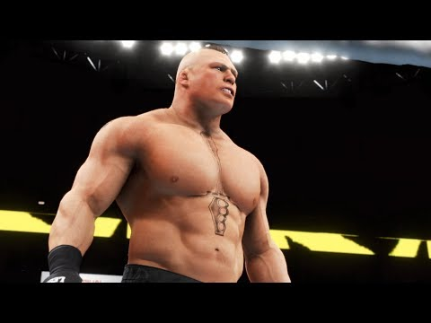 WWE 2K20 - Undertaker vs Brock Lesnar.