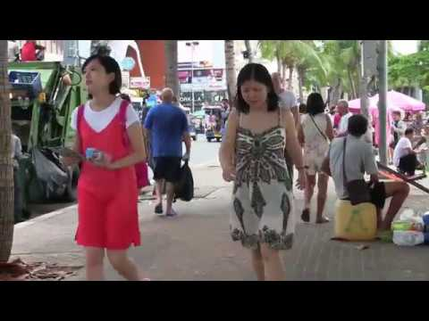 Pattaya Beach Road Walk, Visit Thailand