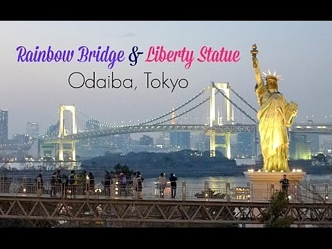 Follow Me To Rainbow Bridge & Liberty Statue @ Odaiba Tokyo