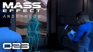 MASS EFFECT ANDROMEDA [023] [Ein Tag auf der Nexus] GAMEPLAY Deutsch German thumbnail