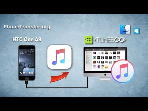 How to Transfer Music from HTC One A9 to iTunes On Mac, Sync HTC One A9 with iTunes on Windows