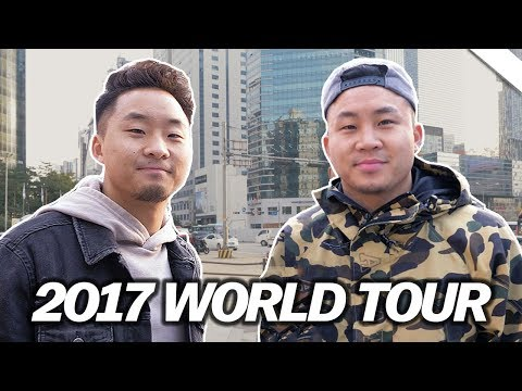 WE'RE IN SEOUL, KOREA RIGHT NOW! - Fung Bros 2017 World Tour