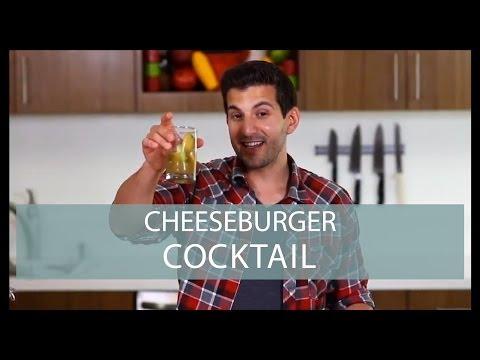 Cheeseburger Cocktail