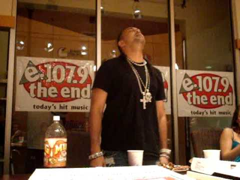 "Sean Paul ""So Fine"" at 107.9 radio station"