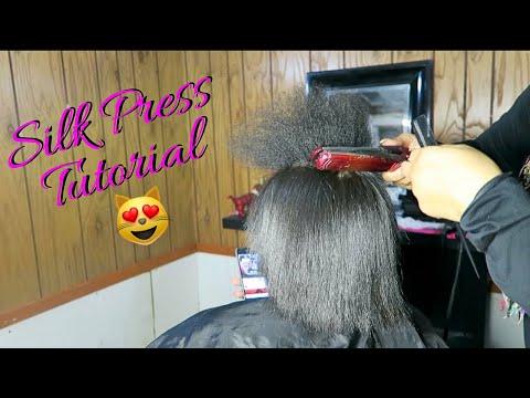 NAPPY HAIR WHERE? Silk Press Tutorial Start To Finish IAmChyng
