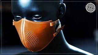 [Leathercraft] Making a steampunk mask / PDF pattern / DIY