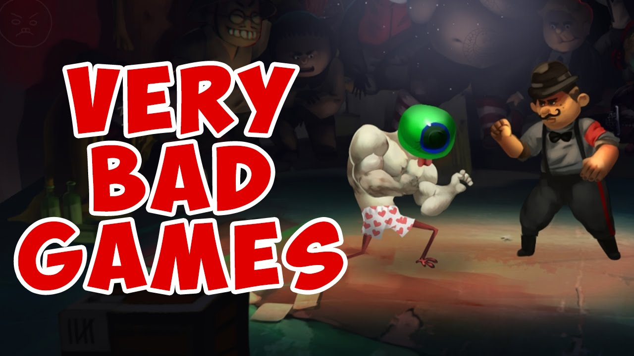 VERY BAD GAMES - WORST GAMES SENT TO MY EMAIL - YouTube
