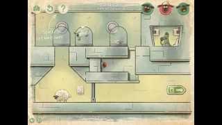 ひつじのショーンの無料ゲームLost In Spaceの自演動画2面 パソコンのURL http://shaunthesheep.com/games.