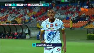 Liga Aguila 2018 I Fecha 10 Medellín 2 2 Tolima