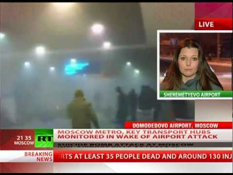 Moscow on high alert after Domodedovo airport terror
