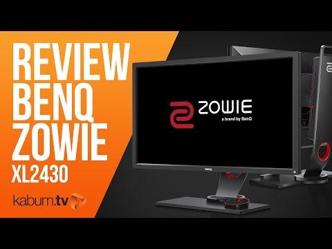Unboxing E Review Do Monitor BenQ Zowie XL2430 (feat. Bruno Bit)   KaBuM!