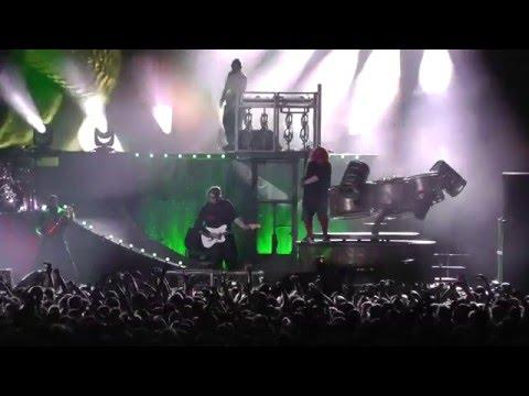 Slipknot LIVE Duality - Prague, Czech Republic 2016