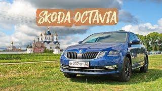 Кантри тест-драйв Skoda Octavia 2019 г.в.