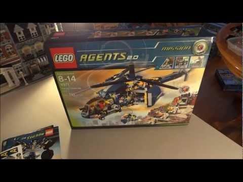 Unboxing - LEGO Agents 8971 - Aerial Defense Unit