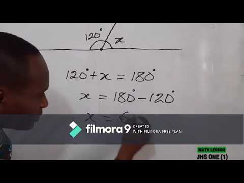 E- Learning By Mr. Joshua Lamptey on Mathematics for Junior High School one (1) First video