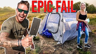 So I Took A Random Girl Camping...(FAIL)
