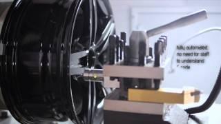 Alloy Wheel Lathe - Diamond Cutting - Machine Alloy Wheel Refurbishment